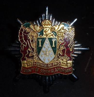 County of South Glamorgan Fire Brigade badge