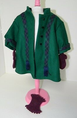 American Girl-Addy's Winter Coat with Mittens