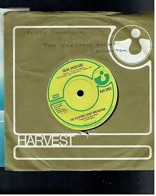 Electric Light Orchestra 10538 Overture 45 Harvest 1971
