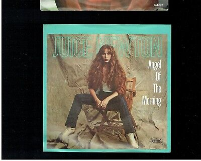Juice Newton Angel Of The Morning Ps 45 1981