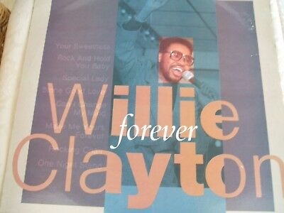 Willie Clayton 'Forever' US Timeless northern soul promo LP exc