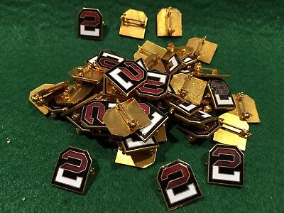 Lot of 50 1970's Vintage US Army 2nd Army Pins