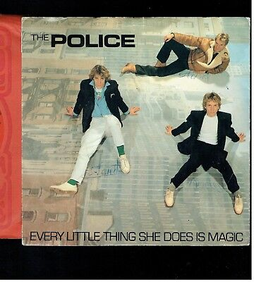 The Police Every Little Thing She Does Is Magic Ps 45 1981
