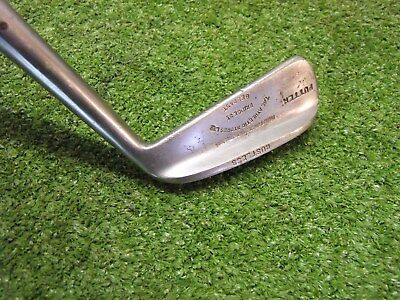 Rare Vintage Hickory Flanged putter Athletic Stores Belfast old golf memorabilia
