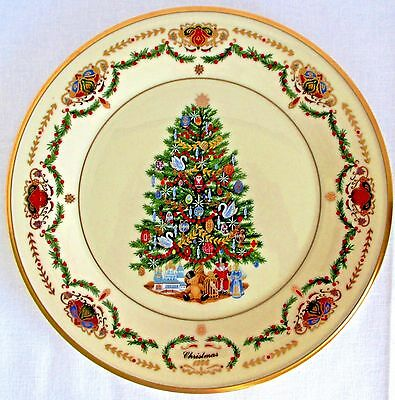 Lenox 1996 Annual Christmas Trees Around The World Plate - Russia