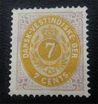 nystamps US DWI Denmark Stamp # 9 Mint OG H $35