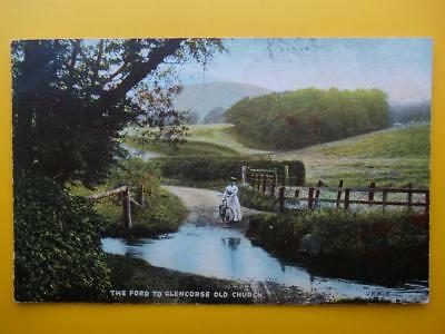 Ford to Old Church GLENCORSE Nr Penicuik Midlothian *Vintage* 1907 Lady Bicycle