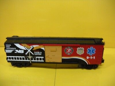MTH 30-74854 Norfolk Southern Box Car w/ Blinking LED's (First Responders)