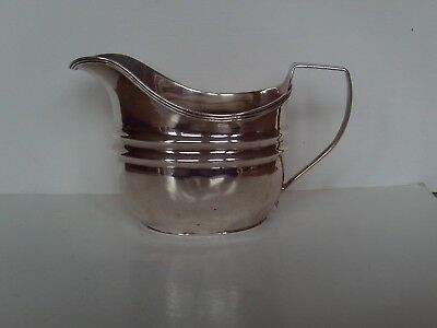Antique Georgian Solid Silver cream jug London 1808