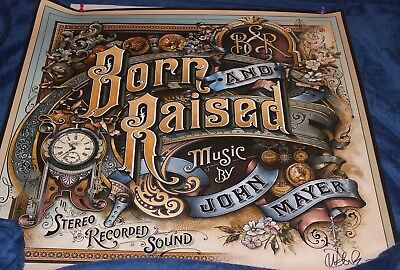 24 x 24 Poster - AUTOGRAPHED/Hand Signed JOHN MAYER