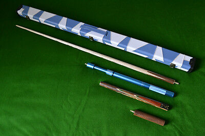 Brand New Robin Scott Handmade Ash Snooker Pool Cue Set Edition 1 With 9.5Mm Tip