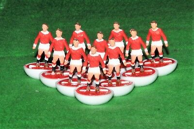 Subbuteo Heavyweight Team Ref.100 Manchester United In Original Stickered Box