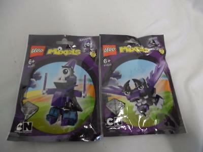 Joblot Bundle LEGO Magnifico 41525 & MesMo 41524 Mixels NEW AND SEALED Series 3