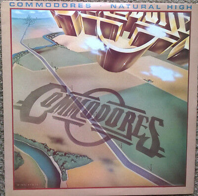 Commodores - Natural High L/p - Northern Soul - Blue Motown Label - Ex+ Cond