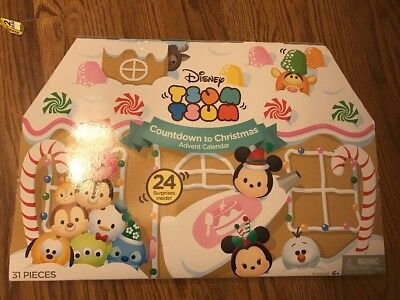 Tsum Tsum Advent Calendar Countdown To Christmas Disney Vinyl New