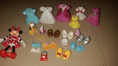 Minnie mouse Fashion Set Disney Disneyland Paris Like Polly Pocket