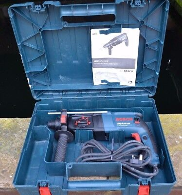 Bosch Gbh 2-26Dre Corded 230V Sds+ Rotary Hammer Drill With Carry Case