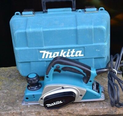 "MAKITA KP0800 CORDED 230V 620W 3""/82mm HEAVY DUTY PLANER WITH CARRY CASE"
