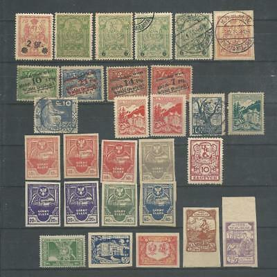 Poland Locals 1915,1921 Warsaw,Silesia etc. Used,MH,MNH Lot
