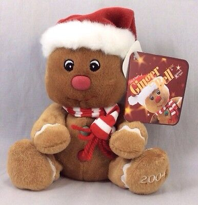 Sears Ginger Bell Dated 2004 Gingerbell Winter Christmas Charity Plush Holiday