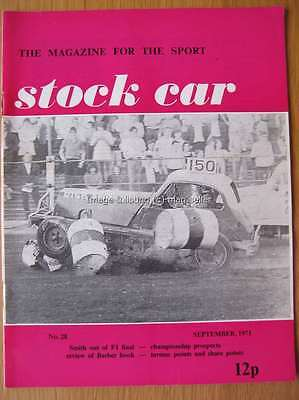 Stock Car Magazine September 1971