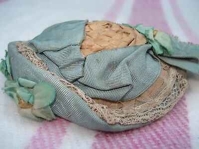 Antique Victorian Doll Accessory Clothing Collection of Hats