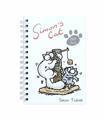 Simon's Cat Official Desk Diary (Wiro) 2018