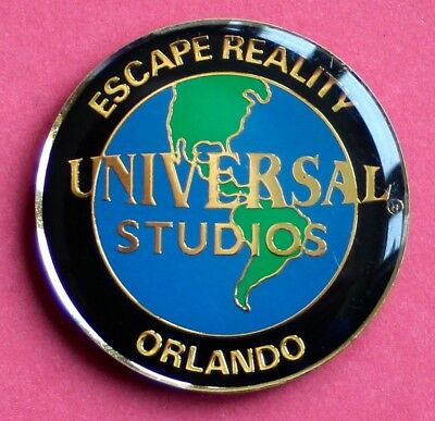 Souvenir Fridge Magnet Orlando Universal Studios Escape Reality Florida USA