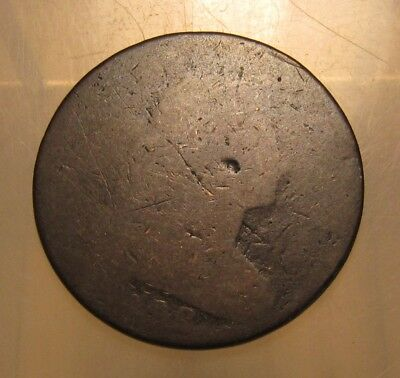 1798 Draped Bust Large Cent Penny - Well Worn Condition - 71SU