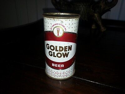 GOLDEN GLOW Flat Top Beer Can Pacific Brewing Oakland, CA