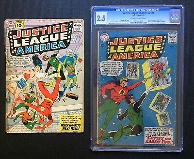 Justice League Of America #5 & #22 Lot. (Two JLA Key Issues)