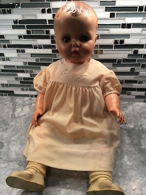 "Vintage 1950's 24"" Baby Doll Sleepy Eyes"
