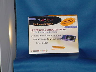 COMPUTER SYMPHONY Cordless PC Card 4400 with CD and Manual PROXIM International