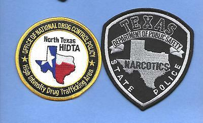 2 State Of Texas Drug Units- North Texas Hidta & Texas Dps Narcotics Unit- Sub