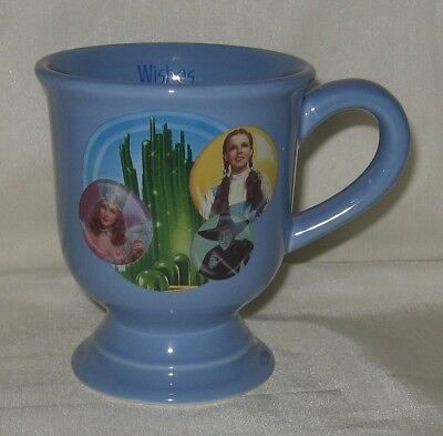 """Turner Entertainment Wizard of Oz Footed Mug """"Wishes Really Do Come True"""" New"""