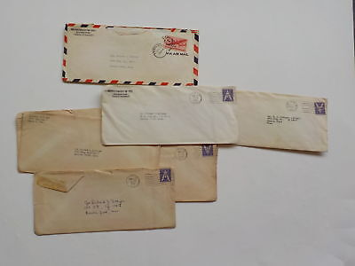 10 WWII Letters 333rd Bomb Group Keesler Field Mississippi WW2 Tampa Florida Lot