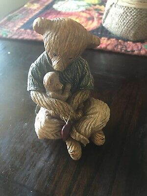 Boyds Collection Life Times A Father's Love Bear & Cub Figurine Collectibles