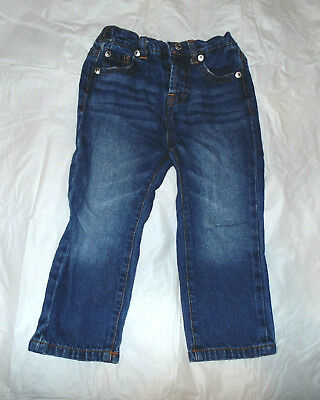Seven 7 For All Mankind Toddler Boy Girl Unisex 24m 24 Month Denim Blue Jeans