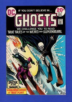 Ghosts #20 Nm 9.4 Glossy High Grade Bronze Age Dc Horror