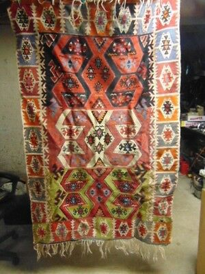 Native Style Heavy Throw Or Rug