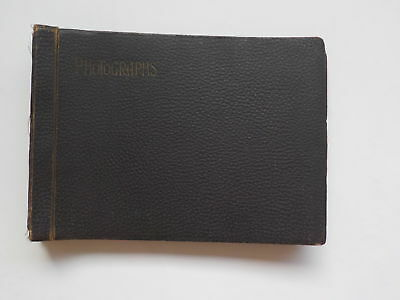 WWI Photo Album 50 Photographs Horses Soldiers WW1 VTG Military World War One NR
