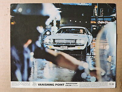 Barry Newman in the Dodge Challenger original color photo 1971 Vanishing Point