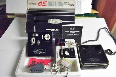 Rare Old Vintage Os Digitron Digital Prop. R/c System V Good Condition For Age