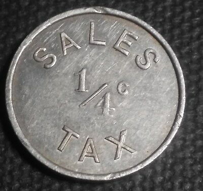 Rock Island, Illinois provisional sales tax token - semi-key