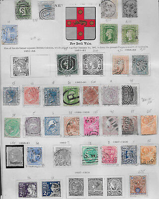 New South Wales Collection Used Stamps
