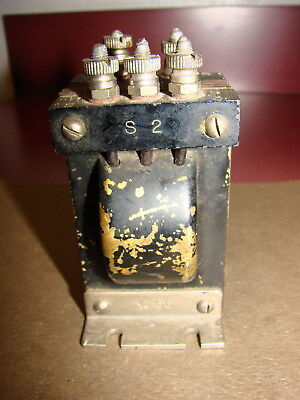 Federal No. 66 Audio Interstage Transformer, Centertapped, for Model 59 or 61