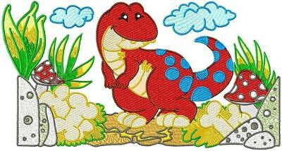 DYNAMIC DINOS 20 MACHINE EMBROIDERY cd  EXCLUSIVE DESIGNS