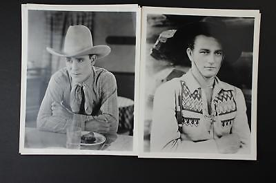 LOT: 48 CONTEMPORARY PHOTOGRAPHS~1930s-1950s WESTERN MOVIE STARS~