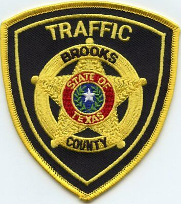 BROOKS COUNTY TEXAS TX Traffic Enforcement SHERIFF POLICE PATCH