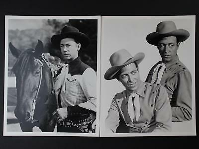 LOT: 48 CONTEMPORARY PHOTOGRAPHS~1930s-1950s WESTERN MOVIE STARS~LOBBY CARDS